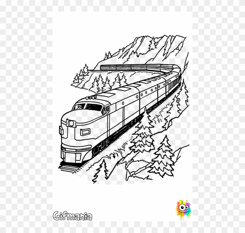 Train Coloring Page 17 Coloring Page - Free Land Transport ... | 800x840