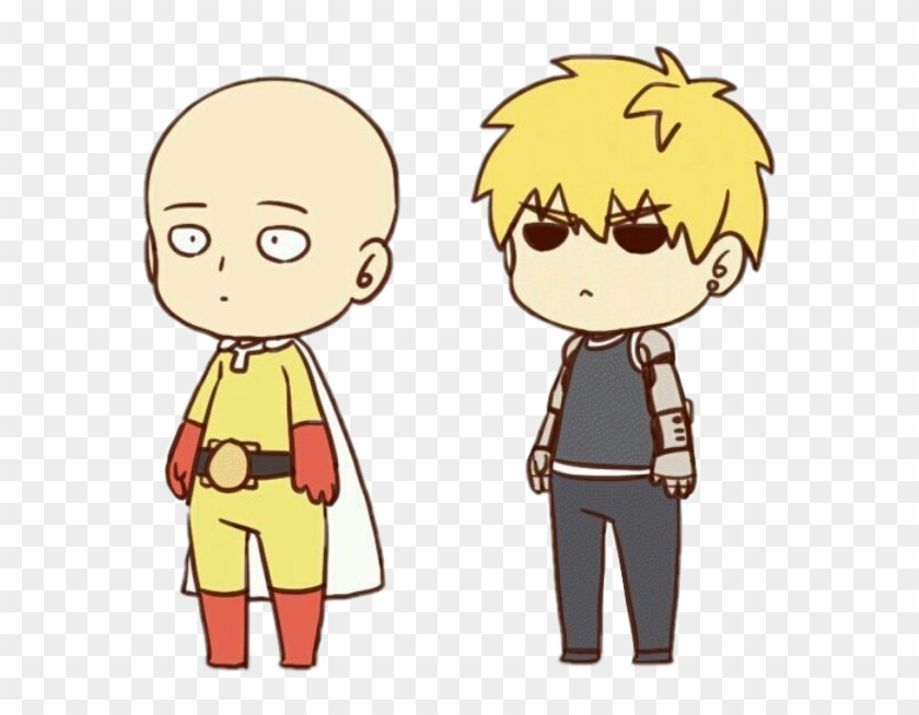 One Punch Man Clipart Saitama One Punch Man Chibi Hd Png Download