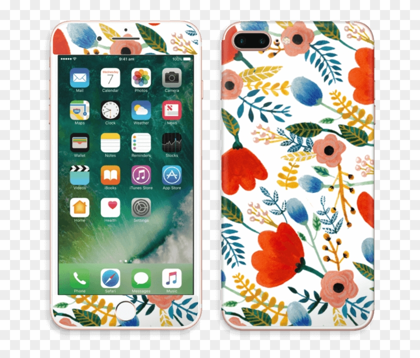 Rosa's Flowers Skin Iphone 7 Plus - Apple Iphone 7 Price In