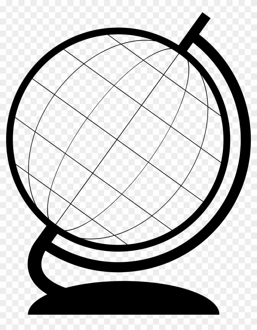 Globe Outline - Globe Outline Png, Transparent Png