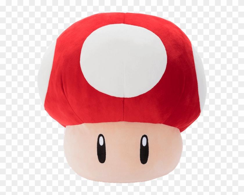 Mario Kart Mushroom Plush Mario Mushroom Plush Hd Png Download