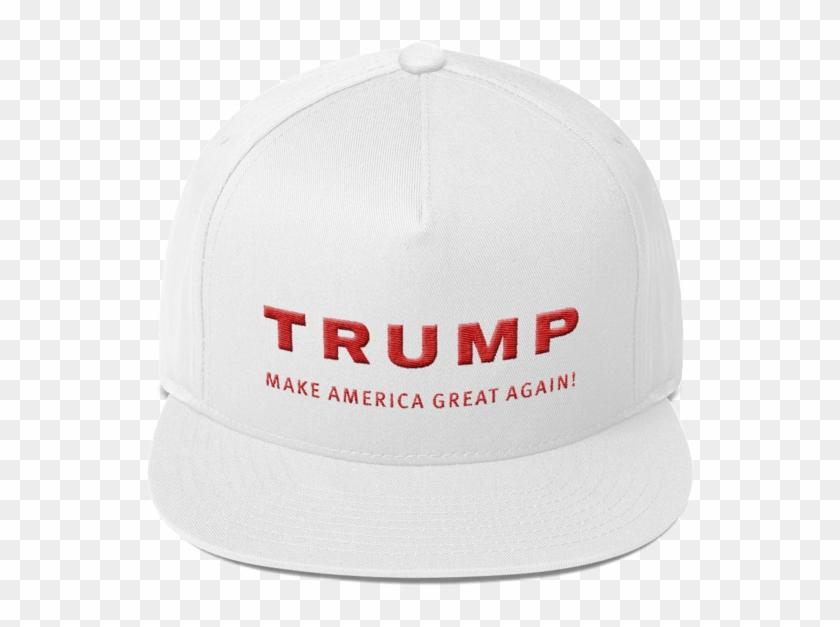 9816ee1b6d60e Trump Make America Great Again Flat Bill Cap By Trump - Baseball Cap ...