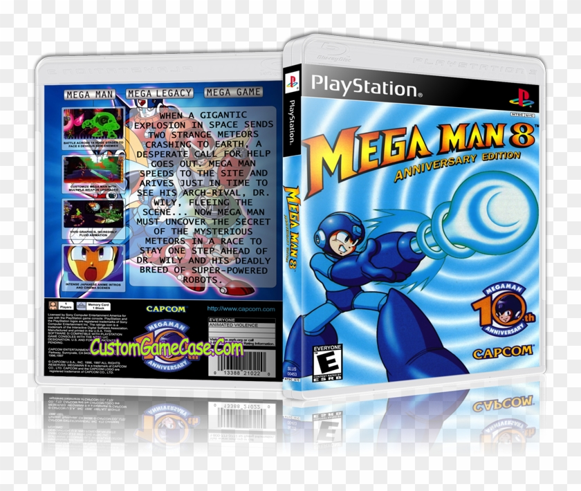 Sony Playstation 1 Psx Ps1 - Megaman 8, HD Png Download - 800x631