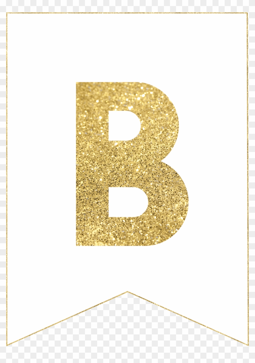 photograph regarding Free Printable Alphabet Letters for Banners titled Cost-free Printable Alphabet Banner Mint Gold Letters - Gold