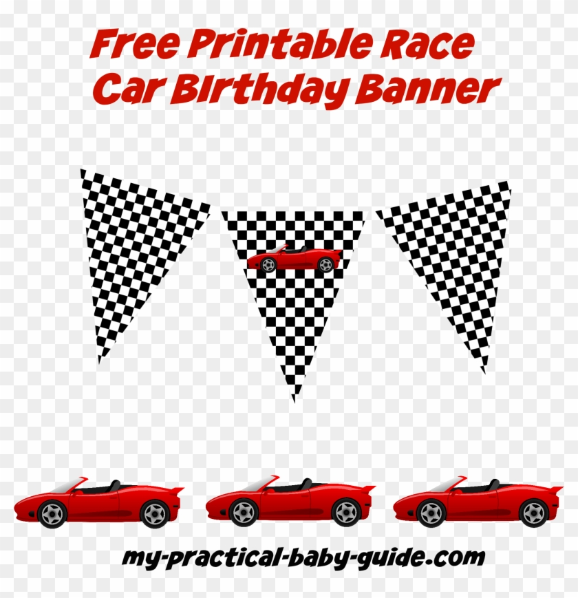 Free Racing Flag Download Free Clip Art Free Clip Cars Banner Birthday Party Hd Png Download 2000x2000 984652 Pngfind