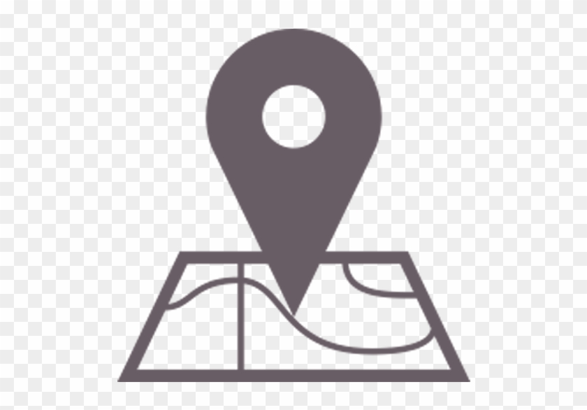 Map Icon - Location Icon For Website, HD Png Download