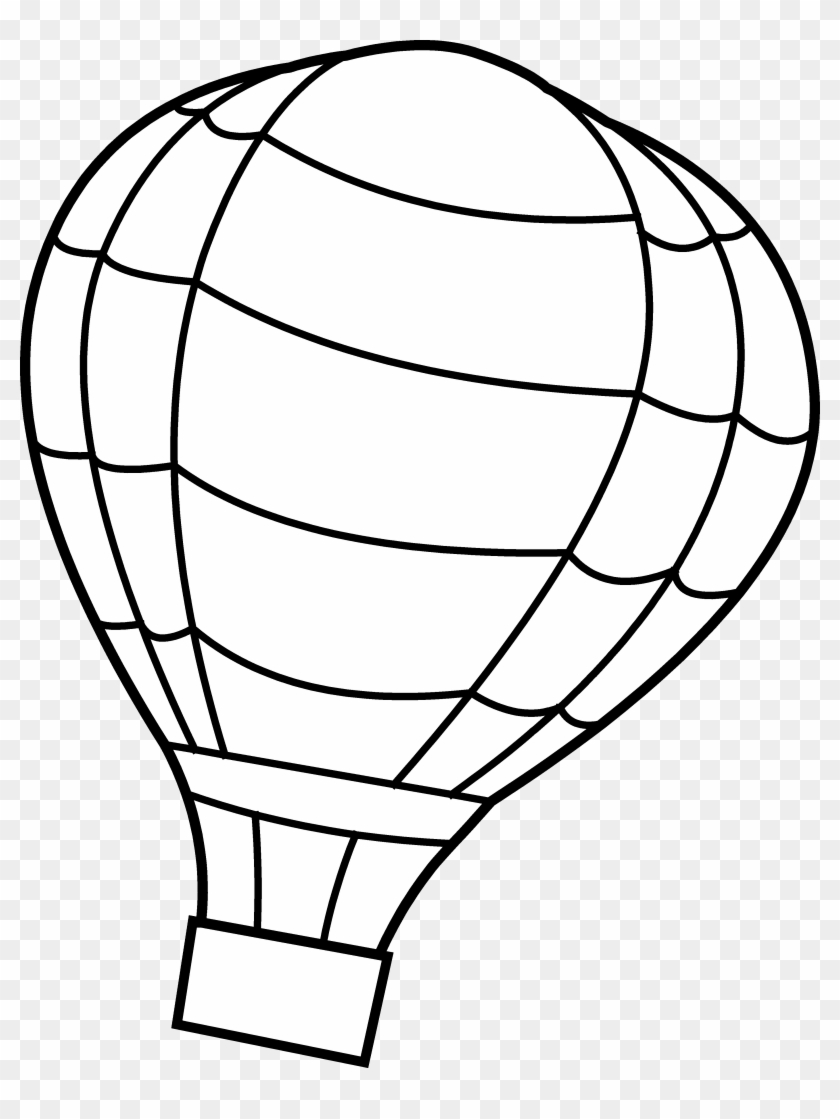 Hot Air Balloon Coloring Page Colouring Page Of Hot Air