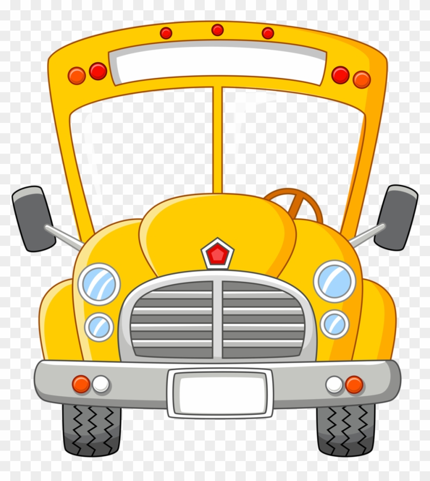 bus clipart cartoon - school bus safety cartoo PNG image with transparent  background | TOPpng